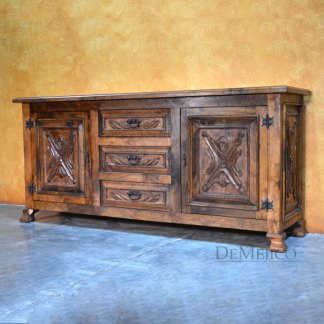Luis Quince Buffet, Spanish Colonial Buffet