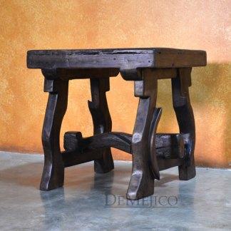 Dark Yugos Reclaimed Wood End Table