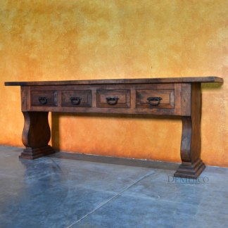 spanish console table
