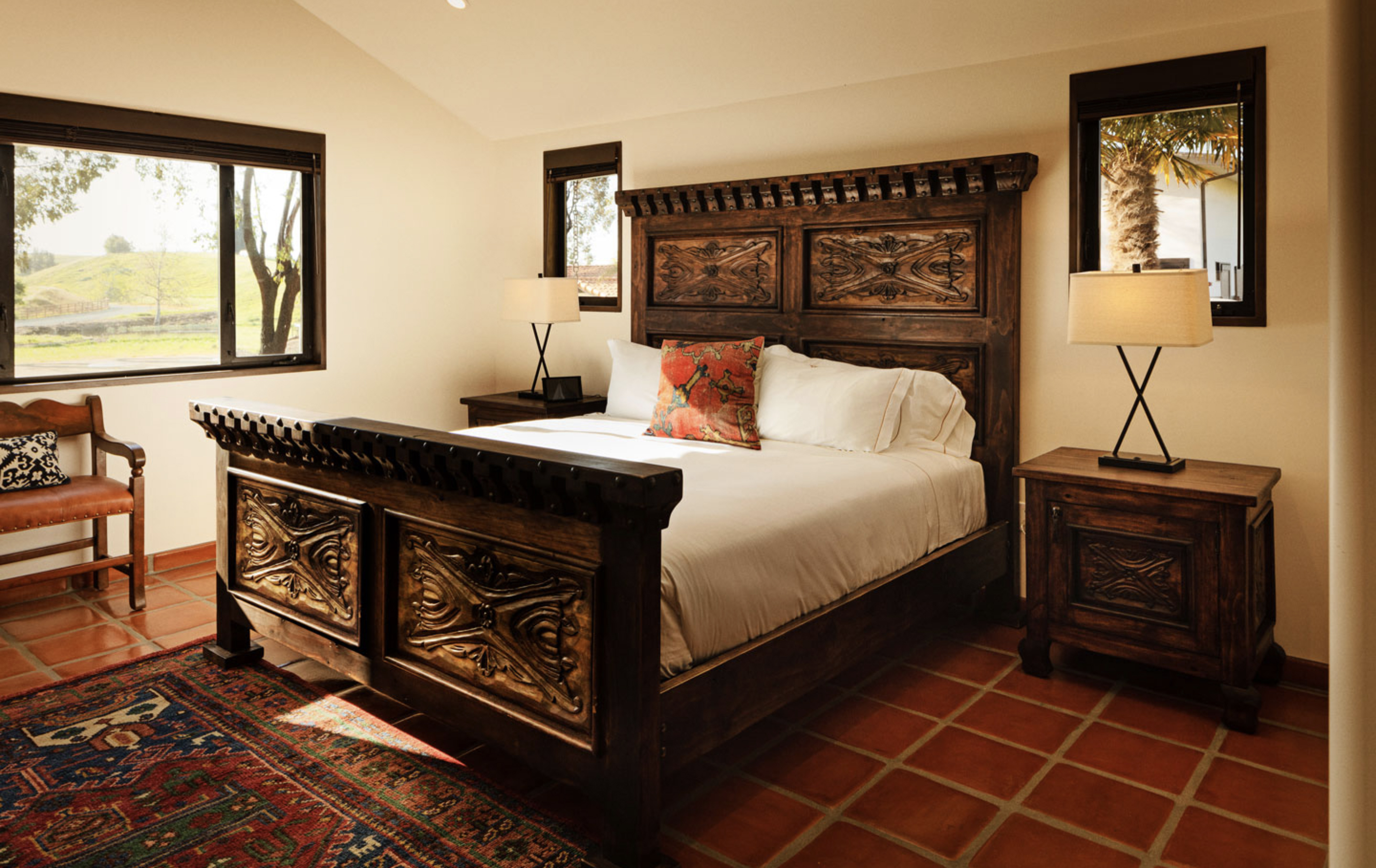 La Lomita Ranch, Spanish Hotel Furniture, Commercial Furniture-Demejico
