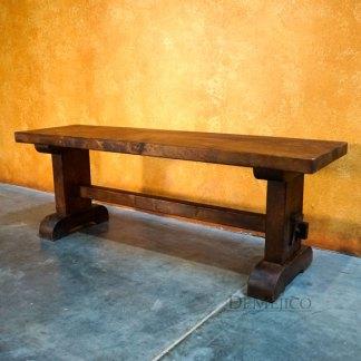 Santa Fe Picnic Bench, Spanish Style Picnic Bench