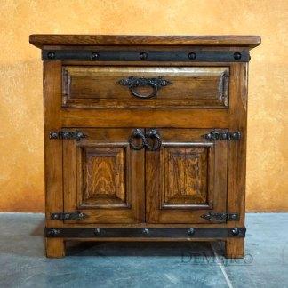 Old Wood Alamo Spanish Style Nightstands