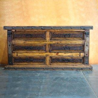 Troje Dresser, Old World Spanish Design, Old World Dresser
