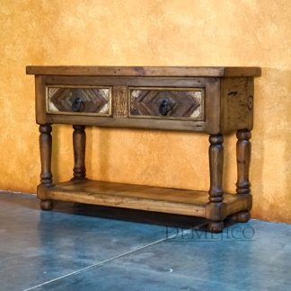 Small Colorado Console, Old Wood Console, Southwest Console Table