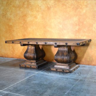 Old Wood Gitana Table, Spanish Style Dining Table - Demejico