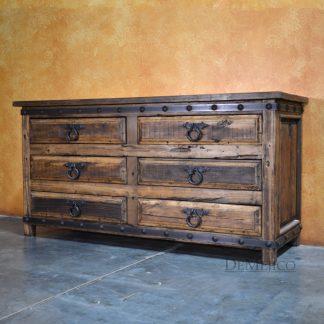 Old Wood Alamo Dresser, Reclaimed Wood Dresser - Demejico