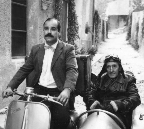 Imagen del filme «Amanece que no es poco» de José Luis Cuerda