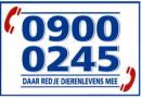 Landelijk Alarmnummer Dierenambulances & Dierenhulpdiensten 0900-0245