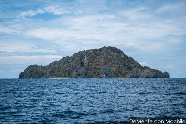 Llegando a Black Island