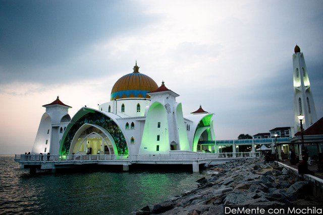 mezquita flotante Melaka