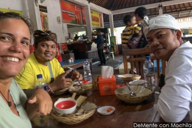 viajando a dedo en Bali