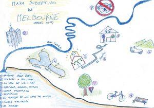 mapa subjetivo de melbourne