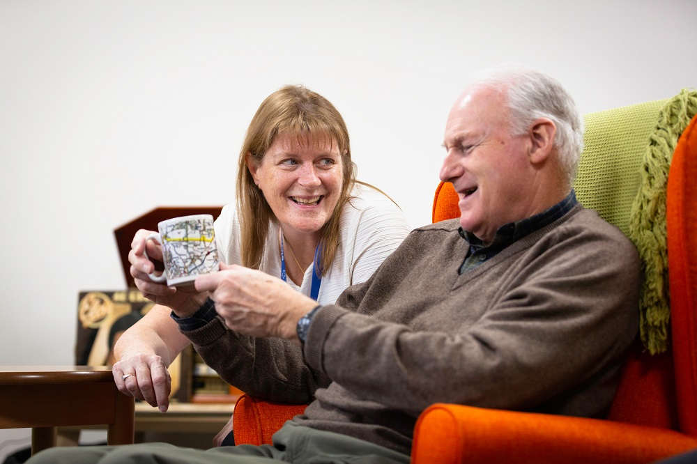talking to someone with Dementia