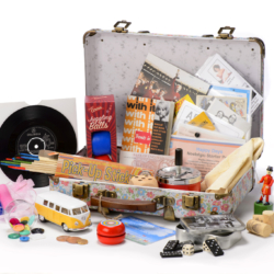 Uk's Favourite 1960s Reminiscence Box or Suitcase www.dementiaworkshop.co.uk