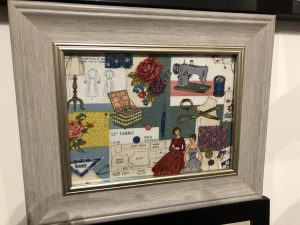 Sewing Wall Art Picture