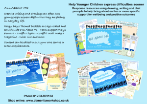 Young People / Y Carers