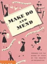 MAKE DO & MEND BOOKLET