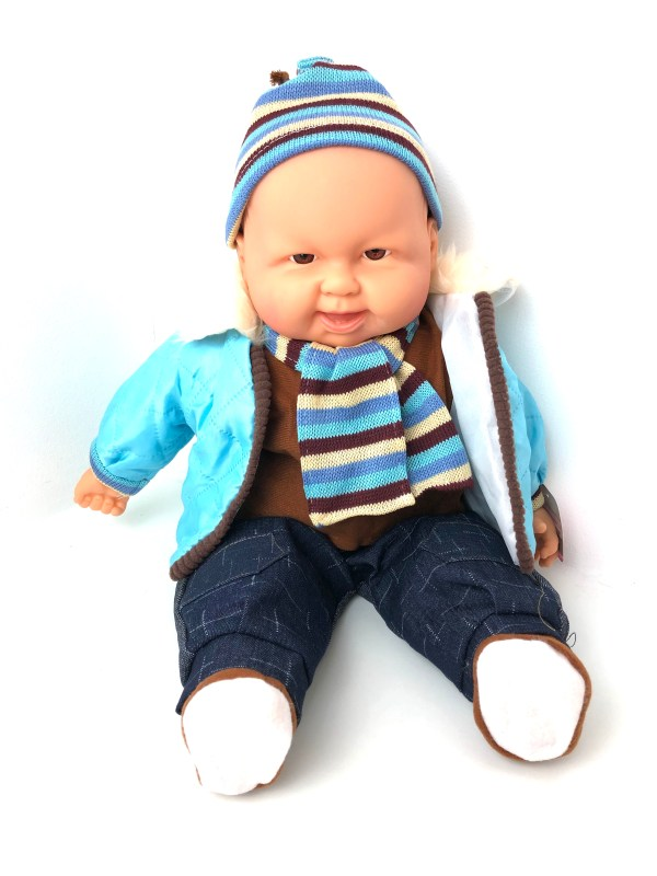 Baby Boy Soft Bodied Doll ideal for Dementia Care