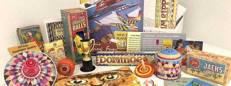 Childhood Toys Reminiscence Box