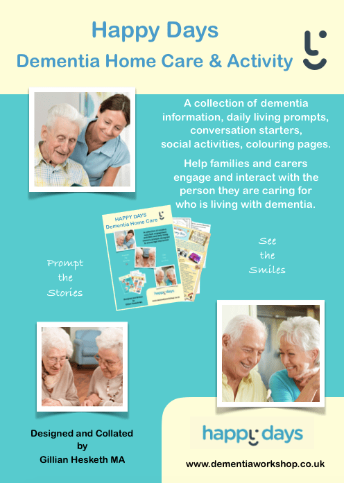 Dementia Activity Book By Happy Days Dementia Workshop