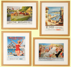 The Broads Weston Super-Mare St. Ives Butlins, Skegness Wall Art at www.dementiaworkshop.co.uk