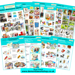 Dementia Activities Catalogue by Happy Days Dementia Workshop