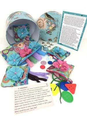 Everyday tactile dementia activity sorting pack
