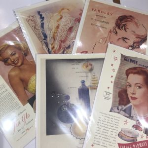 1950s Adverts Beauty Products www.ementiaworkshop.co.uk