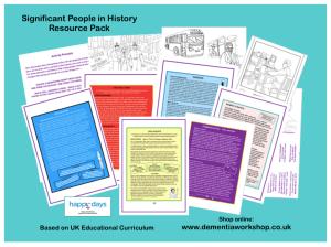 School & Home School History Packs