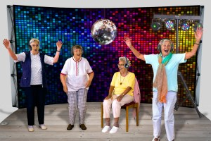 Silent Disco Music & Dance Pod for Care Homes