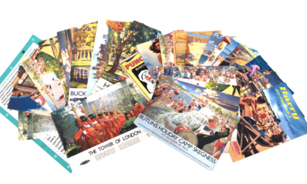 Postcard Pack for Reminiscence - UK Destinations and Seaside Locations