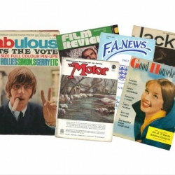 Vintage Magazines www.dementiawokshop.co.uk