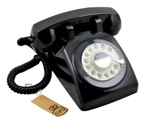 1960s Retro GPO 746 Rotary Phone www.dementiaworkshop.co.uk