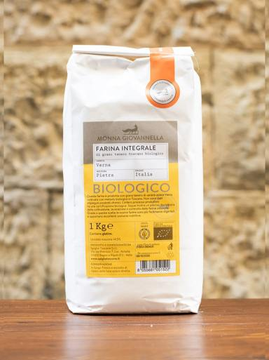 Demetra Bottega Farina Integrale Wholewheat Flour Verna