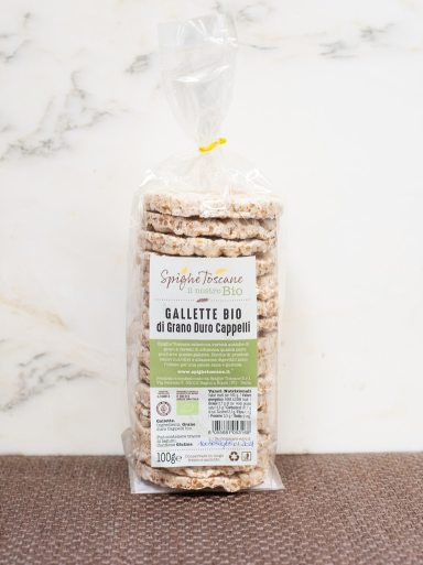Demetra Bottega Gallette Ancient Grain Thins from Spighe Toscane