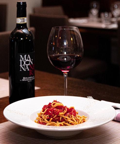 Demetra Hostaria Florentine Steak Dinner