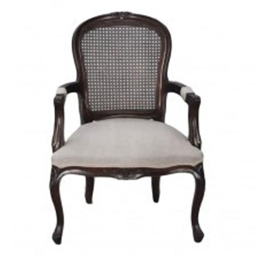 fauteuil canne style louis xvi