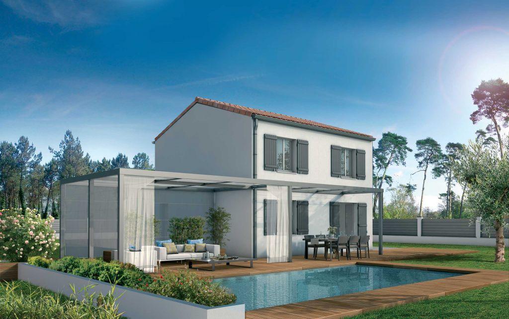 modeles et plans de maisons etage