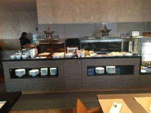 Breakfast spread at the Sheraton Zurich West