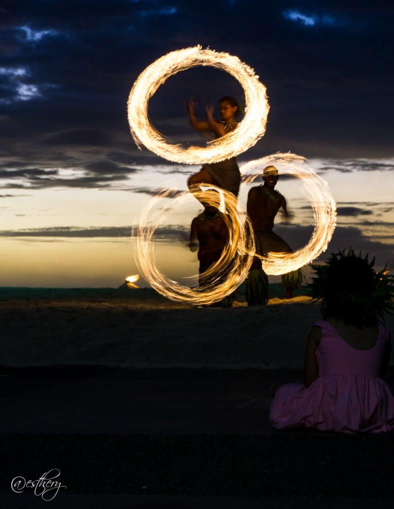 IC Fiji fire show