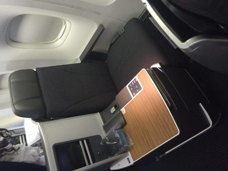 My seat -- 4A