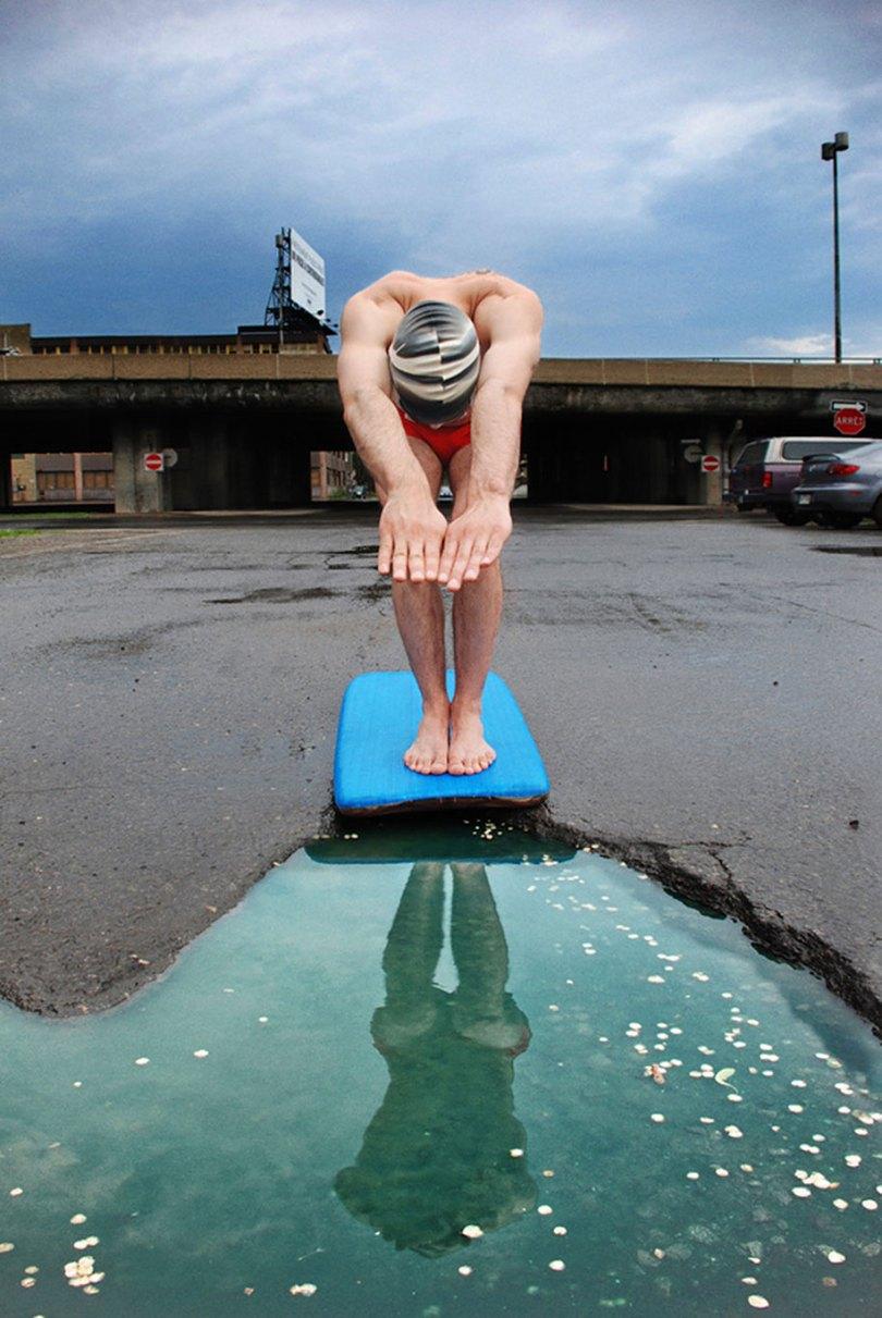 funny photography my potholes davide luciano claudia ficca 1 - Modinha do buraco no meio da rua - Se essa moda pega no Brasil