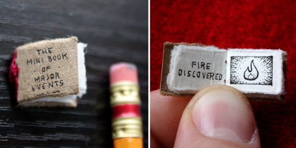 A Nickel-Sized Mini Book Sums Up Most Of The Major Events ...