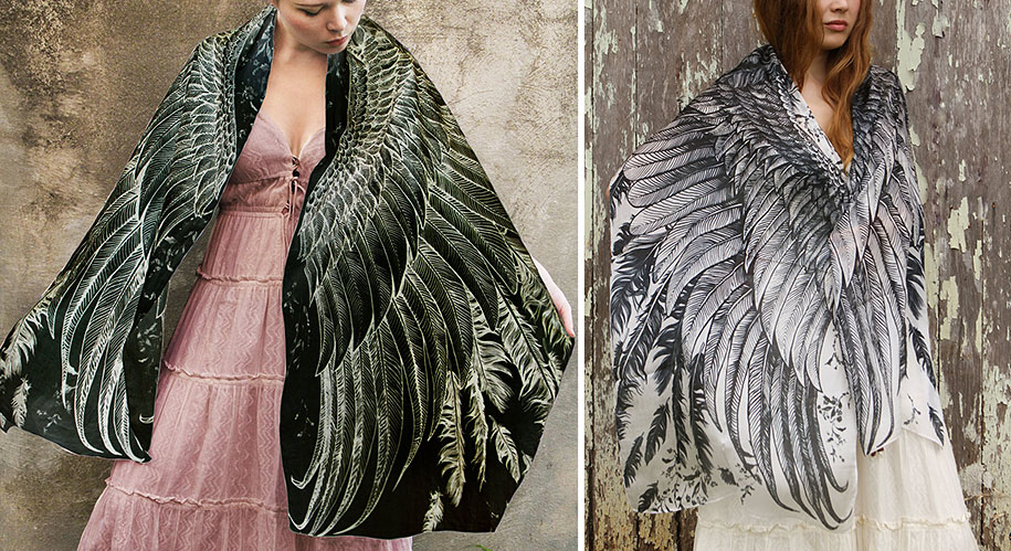 handmade-birds-wings-feather-scarves-shovava-12