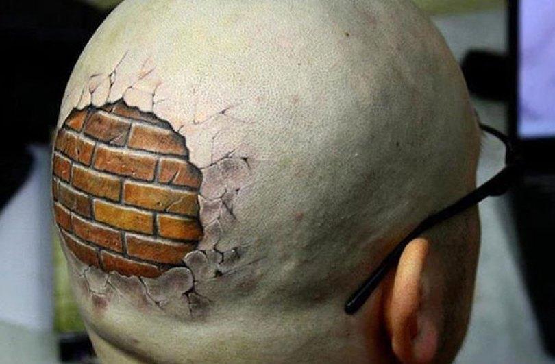 amazing 3d tattoo art 20 - 56  Tatuagens em 3D que irão bagunçar sua mente
