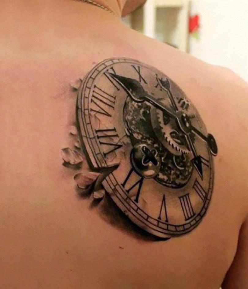 amazing 3d tattoo art 26 - 56  Tatuagens em 3D que irão bagunçar sua mente