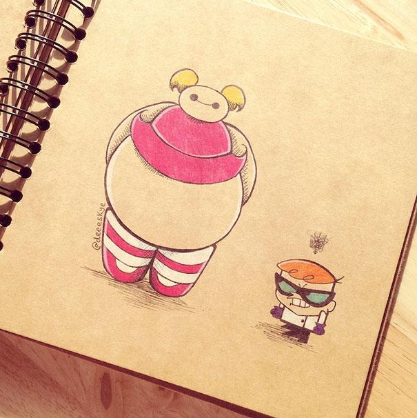 Disney Cute Easy Tumblr Drawings