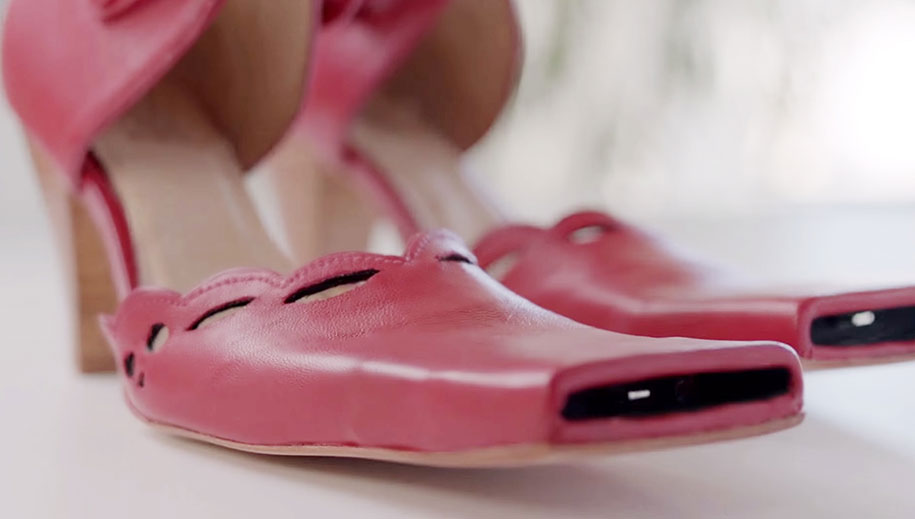 New Selfie Shoes Will Take Your Selfies To The Next Level