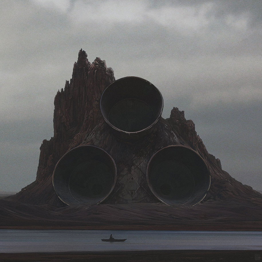 Dark Post Apocalyptic Worlds By Yuri Shwedoff Demilked