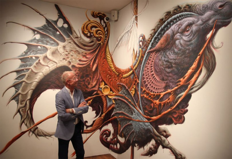 art exhibition vitality and verve transforming the urban landscape long beach california 1 - Museu de arte permitiu que artistas desenhassem em suas paredes